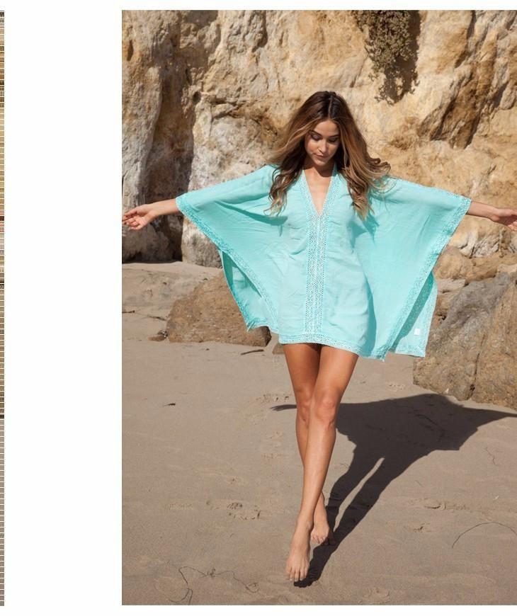 c52bd820416c8 Saida De Praia Fashion Swimsuit Bikini Beach Cover Up Women Beach Wear, Bathing  Suit Cover Ups,Swimwear Cover Up Women Coverups