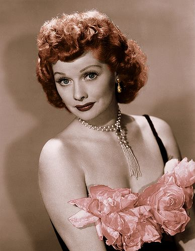 """Lucille Ball Model   April 26: Lucille Ball- """"I Love Lucy"""" - died on this date in 1989..."""