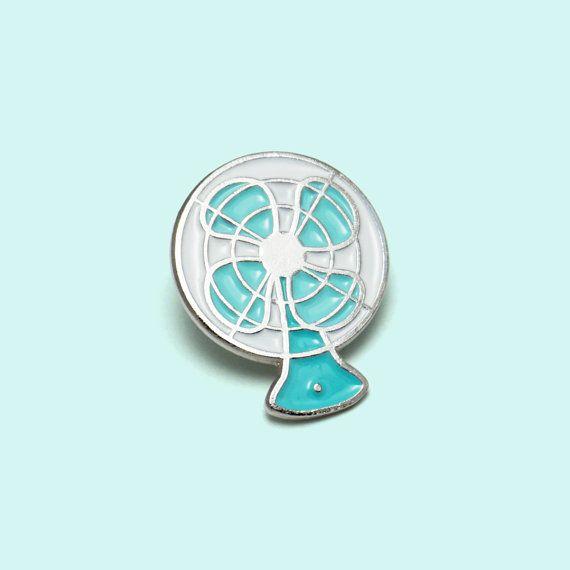 Vintage Electric Fan Enamel Pin