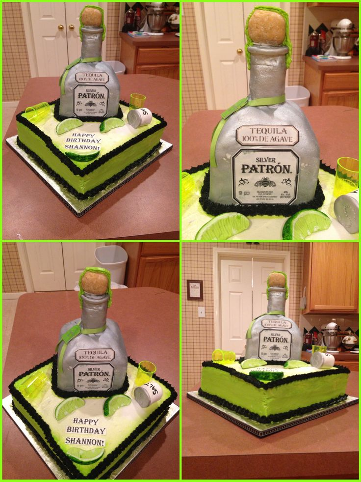 Mexican Cake Bottles