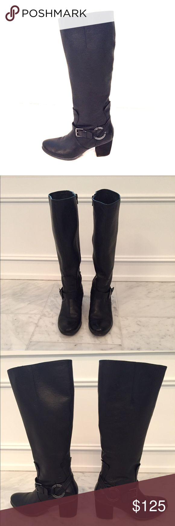 Josef Seibel Black Leather Boots - Size 8 Josef Seibel Black Leather Boots for sale. Excellent used condition. Very little signs of wear. Size 8. Fits perfect if you normally wear 7.5. Josef Seibel Shoes Heeled Boots
