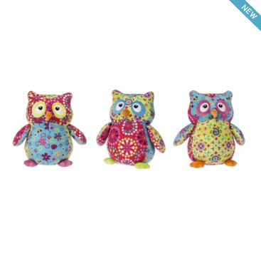 Pizzazz Olio Owls from Mary Meyer  Available now at Bobangles.  #MaryMeyer #plush #toy #kids #cute #Australia #owl