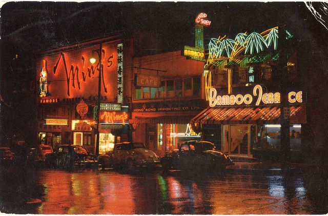 1955 VANCOUVERS CHINATOWN