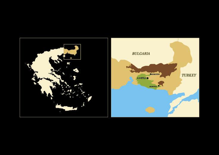 Thrace, the land of Kikones!