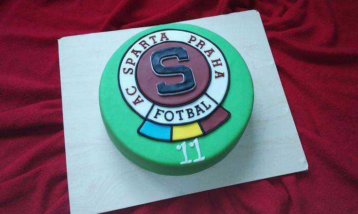 Sparta Praha cake