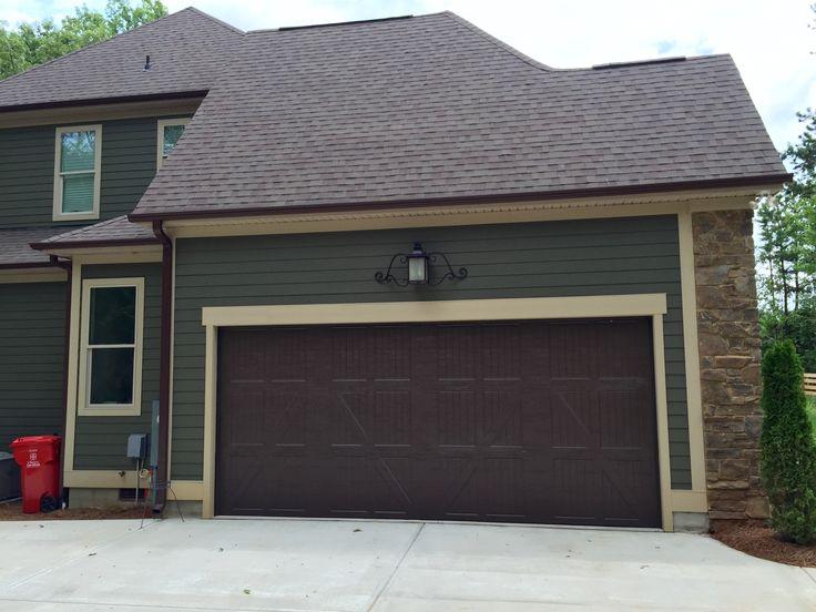 Arh exterior providence b plan exterior 49 roof oc Italian garage doors