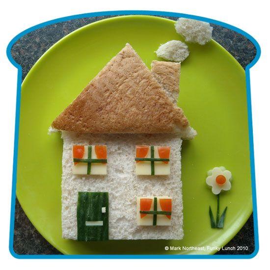 "Assemble the kids' ""sandwiches"" in fun ways!  60 ideas"