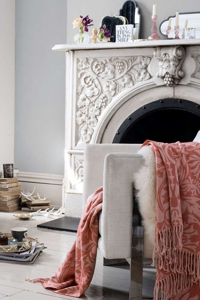 Powdery pastels and floral prints add a hint of vintage glamour to the comforts of home.   H&M Home