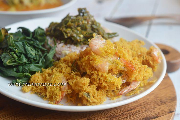 Diah Didi's Kitchen: Kremesan Udang Bersantan