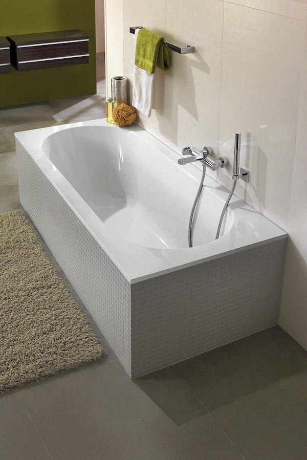 Baignoire Droite Quaryl éléa Bath Wash Room Bathroom Washroom