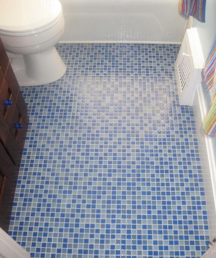Bathroom Floor Tile Mosaic Fascinating Mosaic Bathroom Floor Tile 3 Bathroom  Ideas