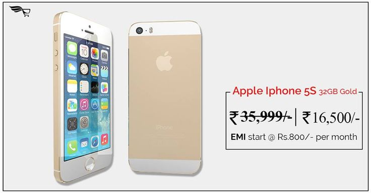 If you're fan of #AppleiPhone 5S 32GB at INR 16,500/- and would like to own this #Smartphone.Order Now:http://bit.ly/2qYmWFM