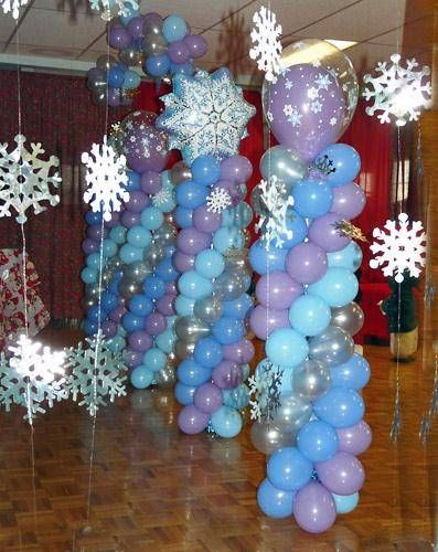 1000 images about frozen snowflake winterland on for Winter dance decorations