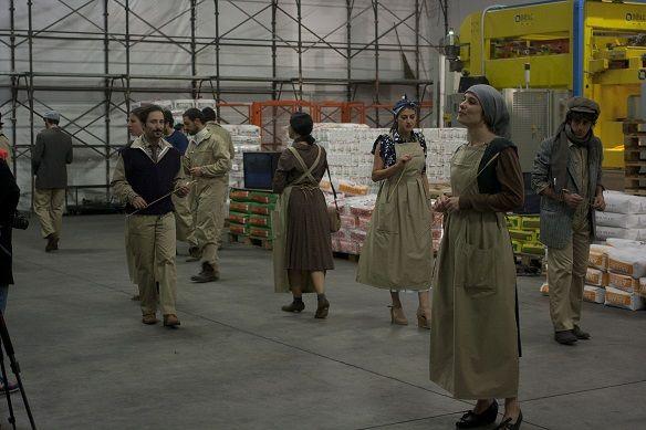 S.I.L.O.S.  Se Il Lavoro Osasse Scomparire  http://www.viefestivalmodena.com/spettacoli/s-i-l-s-se-osasse-scomparire/ Foto Luca Del Pia