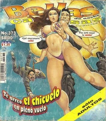 Bellas de Noche Mexican Comic Sexy Girls Spicy 373 | eBay