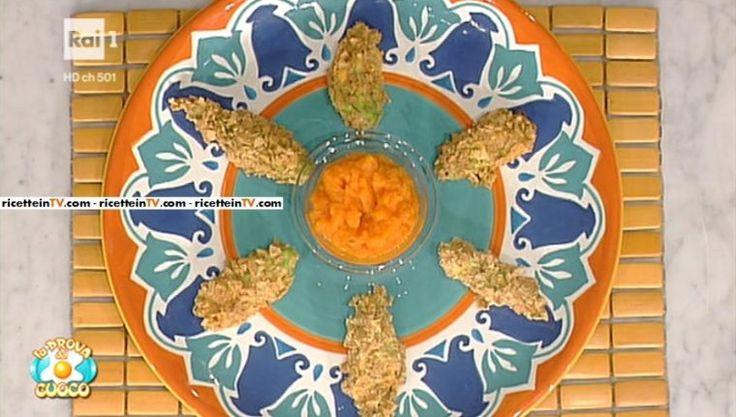 La prova del cuoco | Ricetta fiori di zucca croccantissimi (al forno) | Ricetta sprint