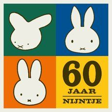 Nijntje wordt 60: een jaar lang feest   Centraal Museum Utrecht.  Nijntje was born 1955 out of the pencil of Dick Bruna, a true midcentury................