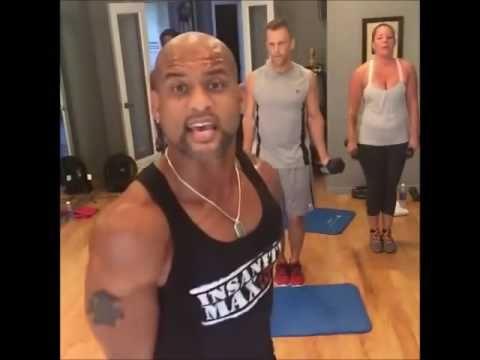 Full Shaun T Workout 25Min 1 mp4 - YouTube