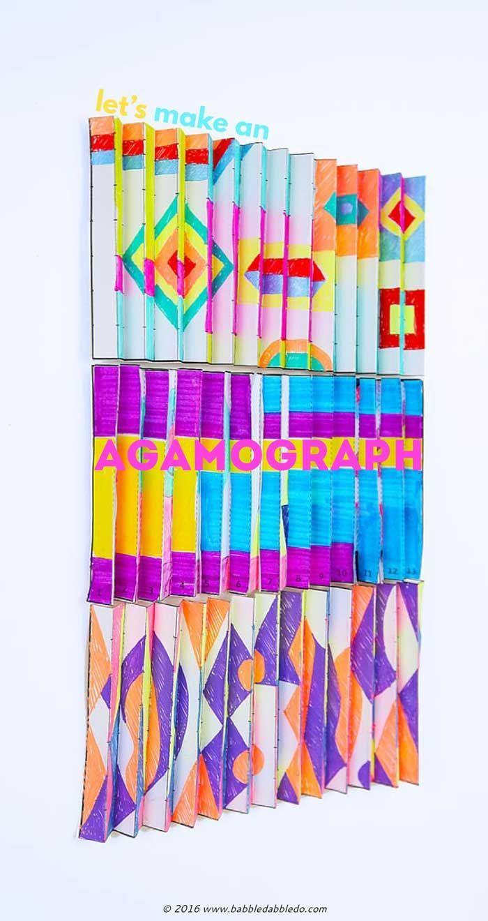 Math Art Idea: Make an Agamograph