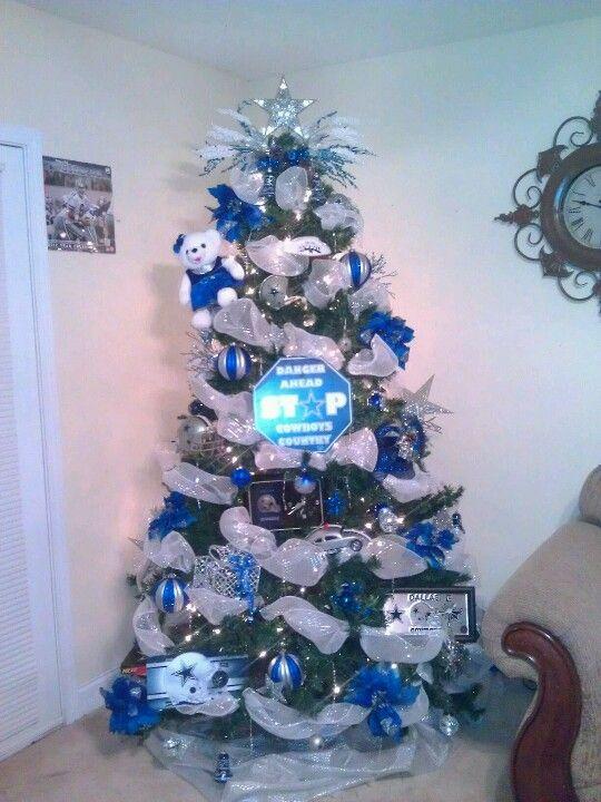 Dallas cowboys xmas tree