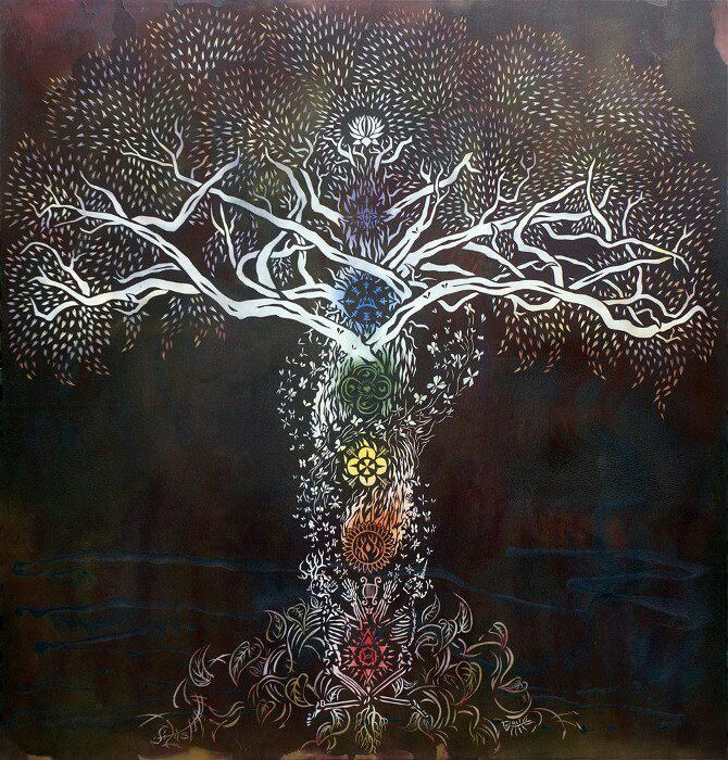 Tree of life, chakras | Tree of Life | Pinterest | Trees ...