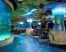 The Aquarium Restaurant in Nashville, TN...it is so awesome! We actually ate at the Rainforest Cafe, but we walked through here and saw all the fish. I want to go back and eat there when they reopen! I <3 Nashville and Opry Mills!