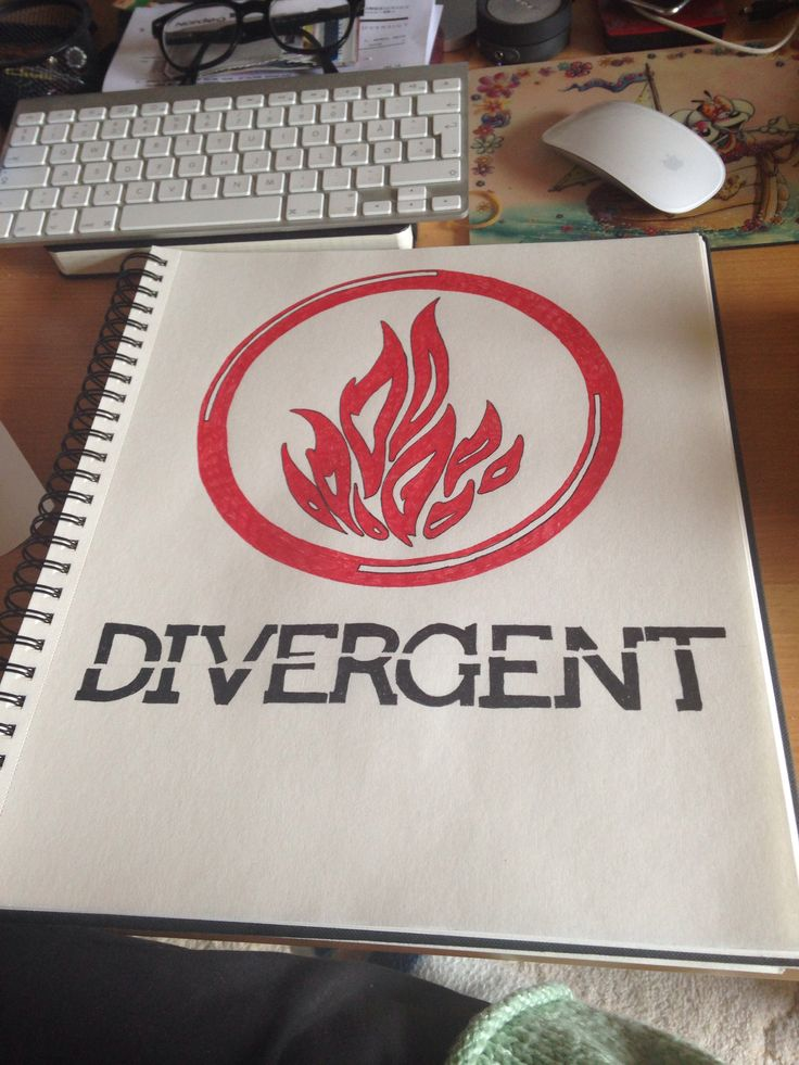 Divergent drawing | Drawings | Pinterest