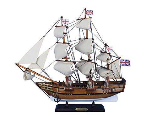 HMS Beagle 20  Wooden Tall Ship  Model Boat  Nautical Decoration >>> For more information, visit image link.