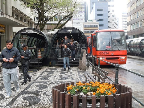 Famous for its pioneering Bus Rapid Transit program, Curitiba also gets 82 percent of its energy from renewables and is tied with Copenhagen in the survey for lowest emissions per capita.