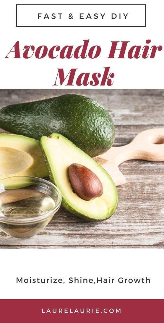 Diy Avocado Deep Conditioning Hair Mask For Natural Hair Natural