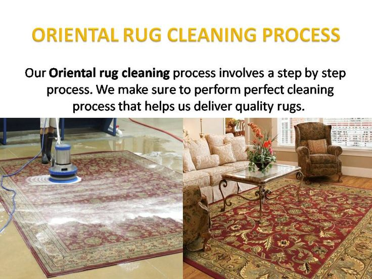 OurOriental rug cleaning process involves a step by step process.