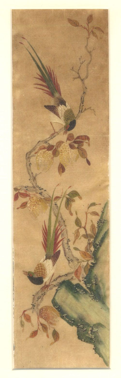 korean-paintings-flowers-and-birds-16-ananzon.jpg (500×1562)  Shin Saimdang