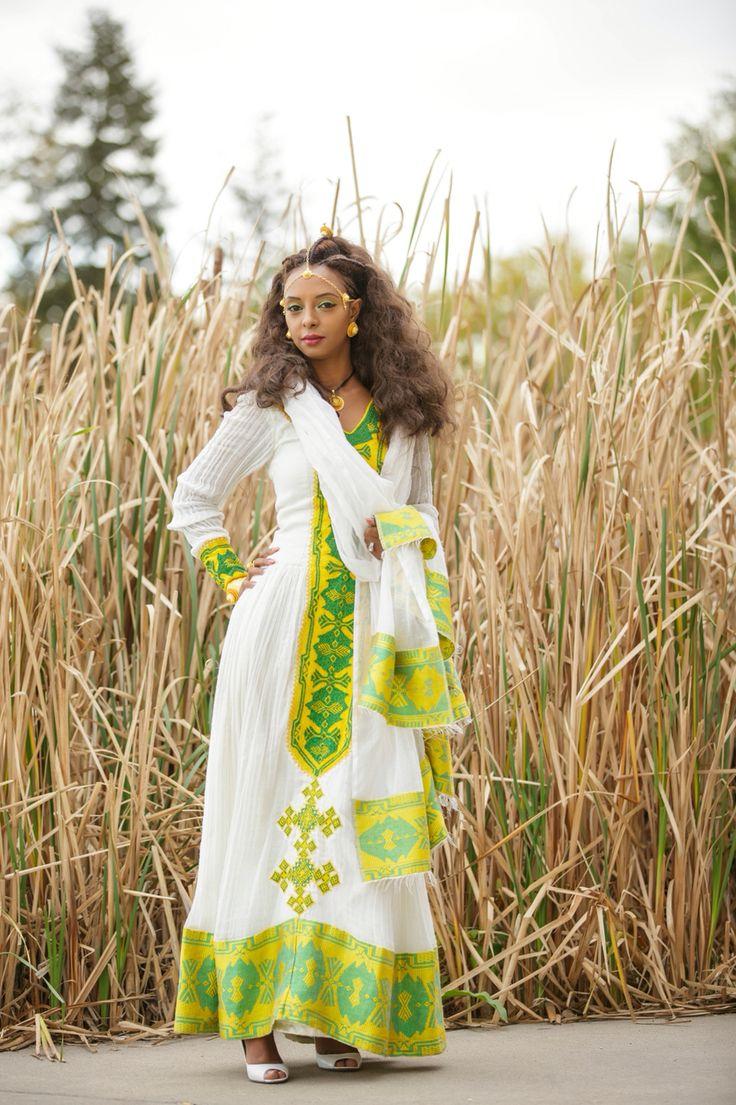 46 Best Habesha Kemis  Ethiopian Traditional Clothes -1062