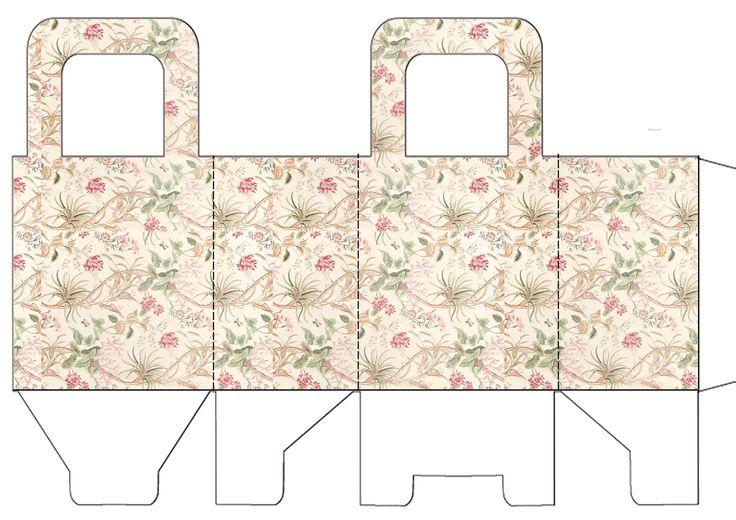 348 migliori immagini gift box 5 su pinterest scatole for Modelli di casa gratuiti