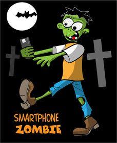 #31 voor Smartphone addict illustration or cartoon. Design single-panel illustration or cartoon symbolizing a smartphone addict (multiple winners possible). door portretv3