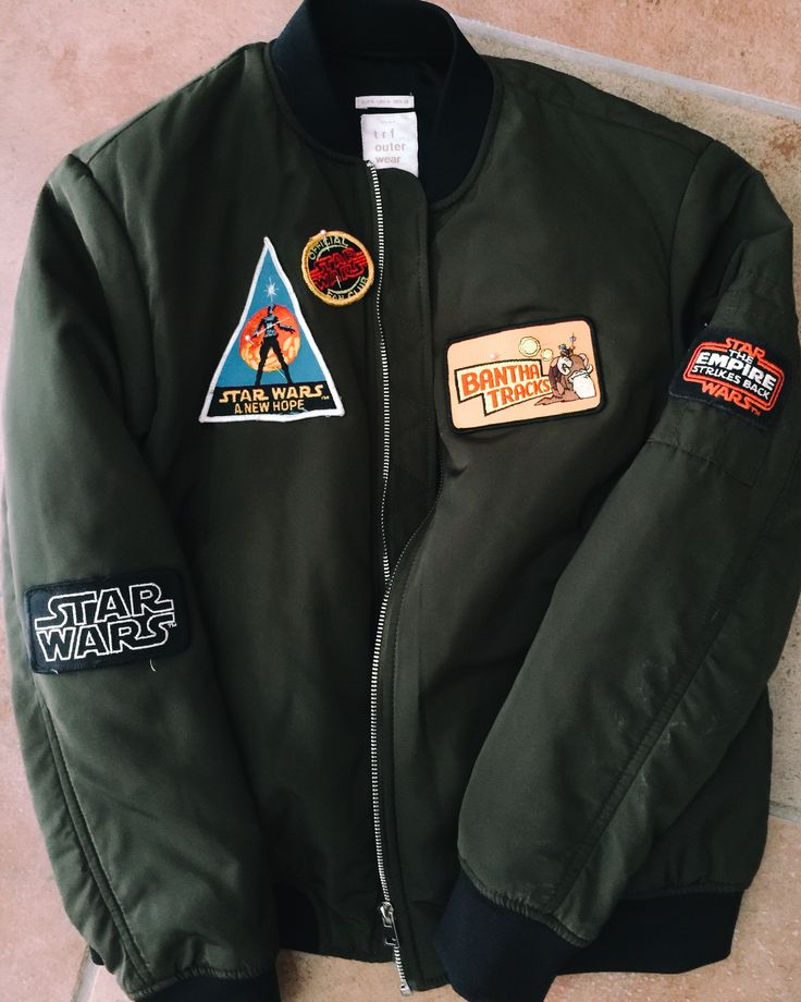 The Bomb: DIY Star Wars Bomber Jacket | the stylish geek