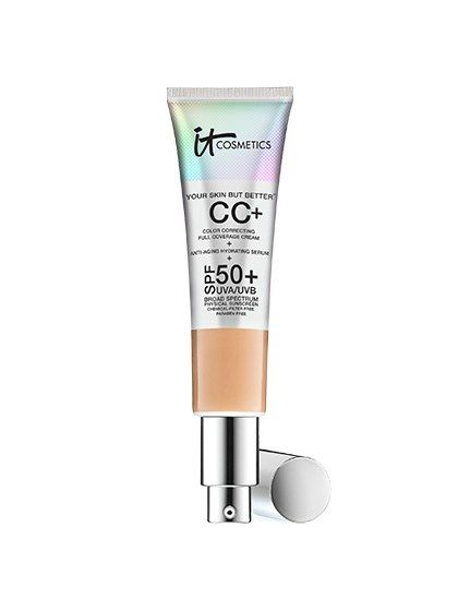 This full-coverage CC cream seems to do everything: It brightens, hydrates, protects, evens skin tone, fights wrinkles, and instantly diffuses the appearance of fine lines, all without being heavy or makeup-y. (No word on whether it can also cure cancer or bring about world peace.)