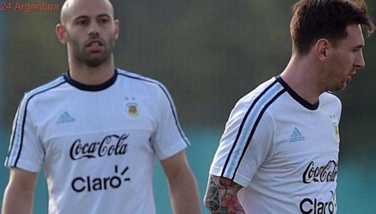 Mientras Perú hace 10 días que entrena, la Selección completó hoy el plantel con la llegada de Messi