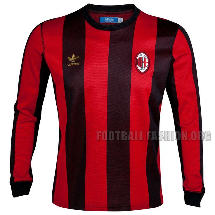 AC Milan 2012 adidas Originals Home Jersey