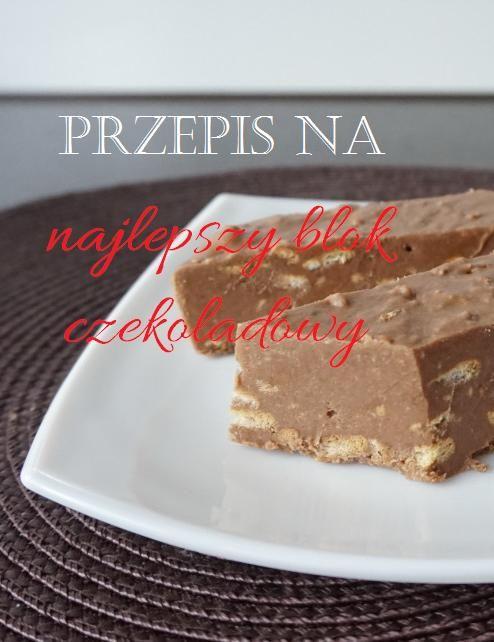 Sprawdzony przepis na szybki a przy tym przepyszny deser, czyli blok czekoladowy. Prawdziwy smak dzieciństwa <3 Więcej: http://zielonakaruzela.pl/przepis-na-najlepszy-blok-czekoladowy/