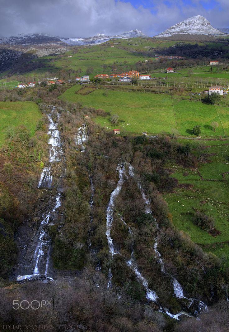 Cascada de La Gándara - Cascada de La Gándara desde su mirador