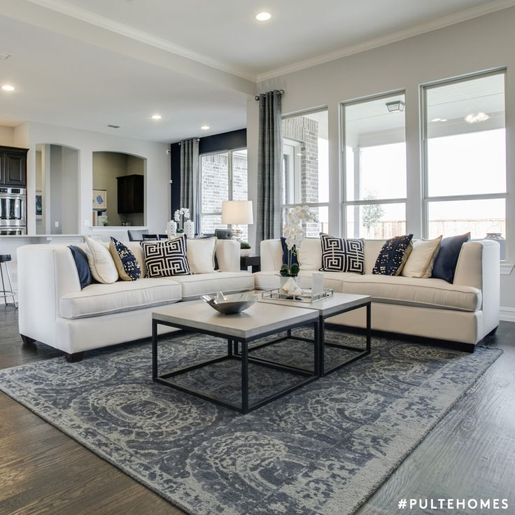 An area rug can dramatically affect a room and can make you see a space in  a whole new way  This rug is the perfect addition to the blue and gray  living. 115 best Sophisticated Living Rooms images on Pinterest