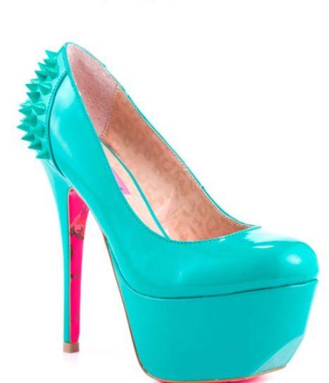 My fav Betsey Johnson heel