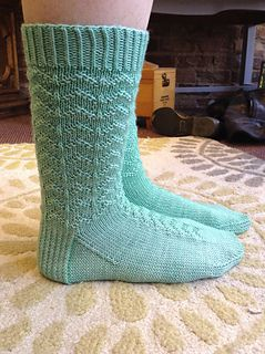 Ravelry: Kakurenbo Socks pattern by Emily Walton