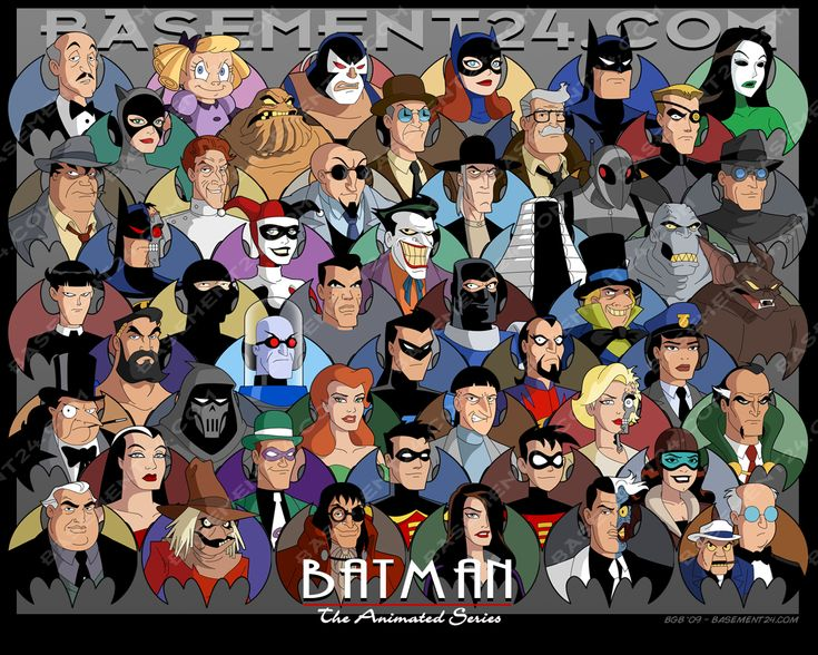 Batman the animated se...