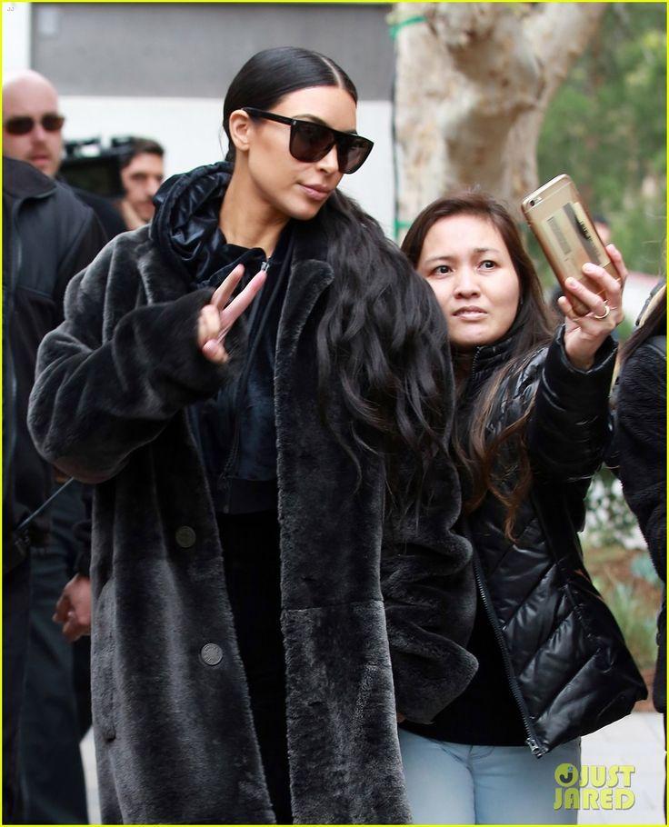 Kim Kardashian Shares Sweet Selfies With Saint!