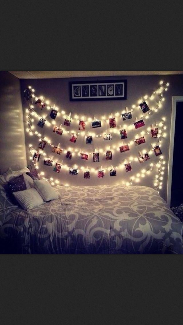 Makes for a cute night light too. xx