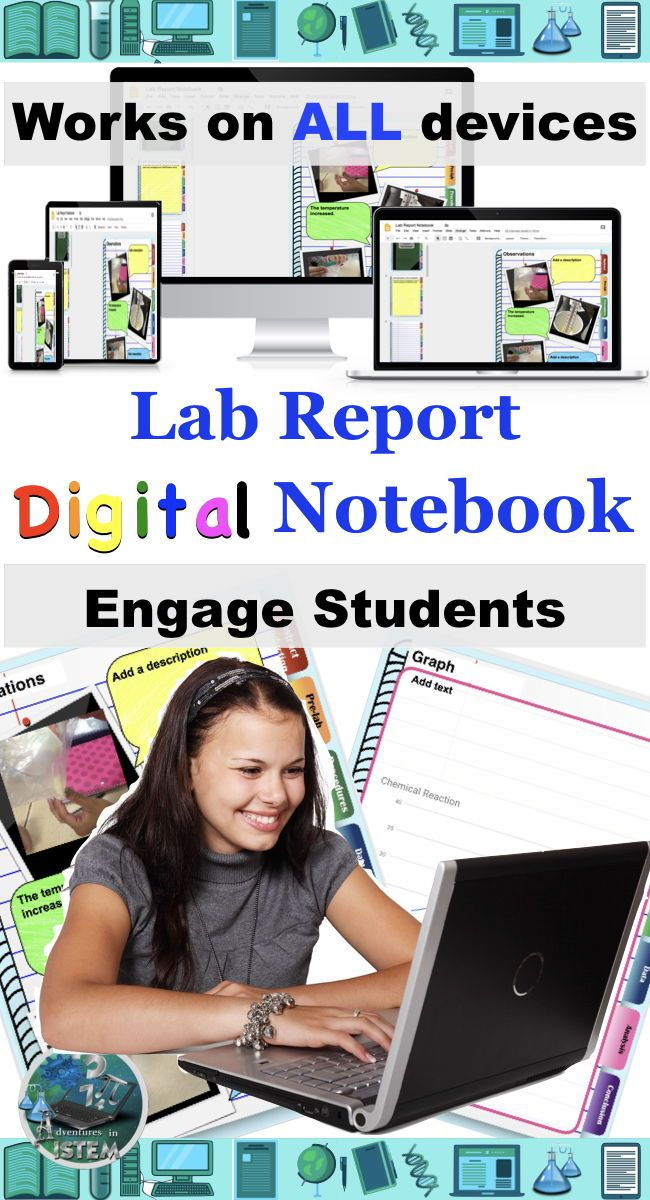 Incorporate technology into your science class with this lab report