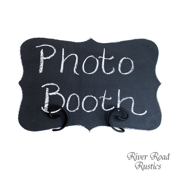 Chalk Board Wedding Sign WITH Easel- Ready to Ship.