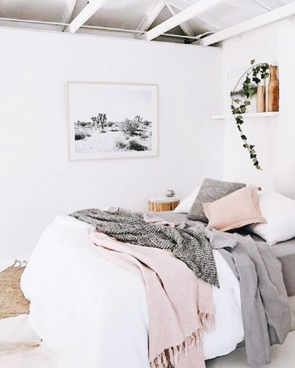 Blush And Grey Bedroom Pink Bedroom Decor College Apartment Decor Pink Bedrooms